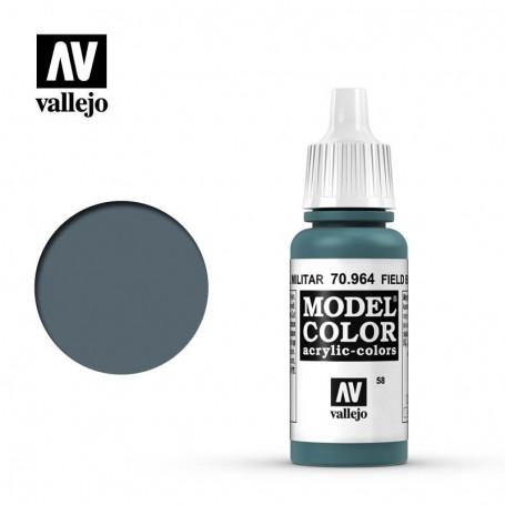 Vallejo 70964 Model Color 964 Field Blue (058) 17ml