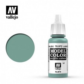 Vallejo 70972 Model Color 972 Light Green Blue (107) 17ml