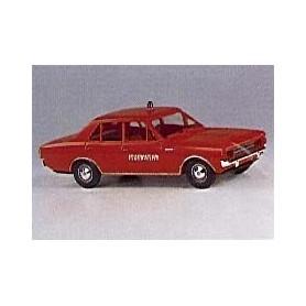 """Brekina 20504 Opel Rekord C Brandförsvar """"ELW"""""""