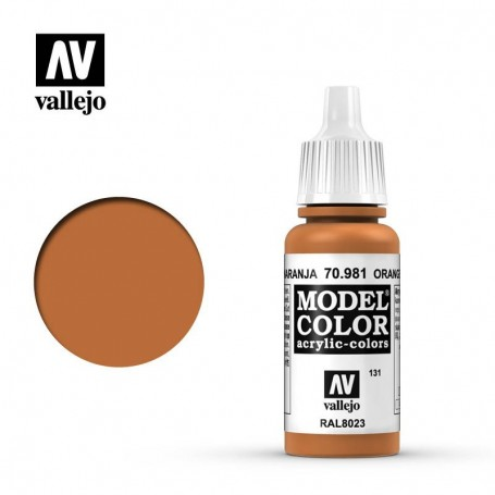 Vallejo 70981 Model Color 981 Orange Brown (131) 17ml