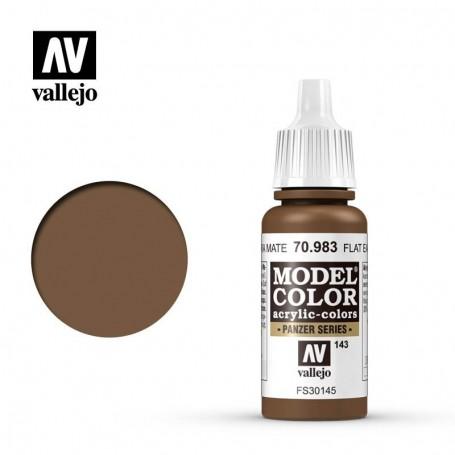 Vallejo 70983 Model Color 983 Flat Earth (143) 17ml