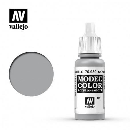 Vallejo 70989 Model Color 989 Sky Grey (154) 17ml