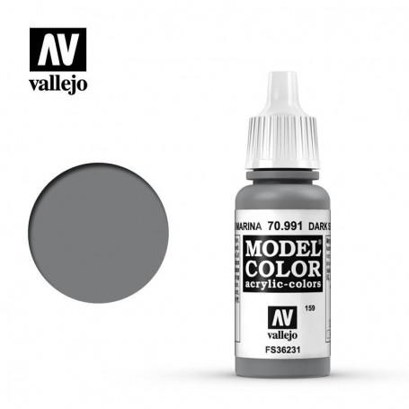 Vallejo 70991 Model Color 991 Dark Sea Grey (159) 17ml