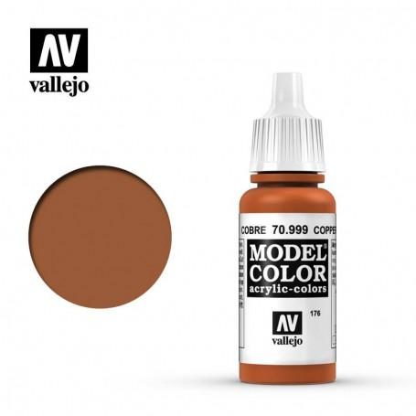 Vallejo 70999 Model Color 999 Copper (176) 17ml