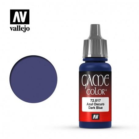 Vallejo 72017 Game Color 017 Dark Blue 17ml