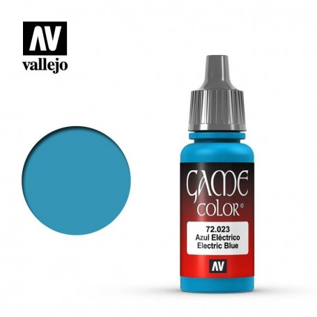 Vallejo 72023 Game Color 023 Electric Blue 17ml
