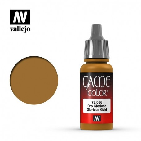 Vallejo 72056 Game Color 056 Glorious Gold 17ml