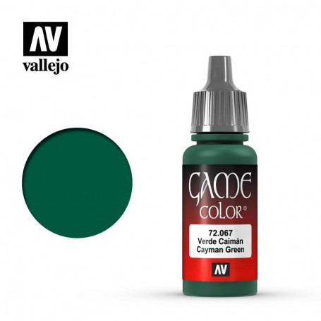 Vallejo 72067 Game Color 064 Cayman Green 17ml