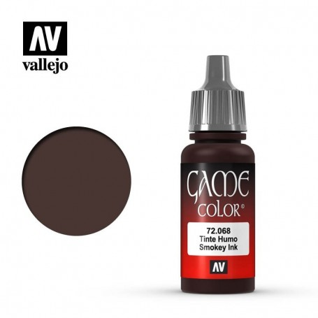 Vallejo 72068 Game Color 068 Smokey Ink 17ml