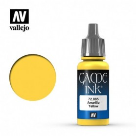Vallejo 72085 Game Color 085 Yellow Ink 17ml