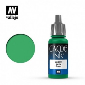 Vallejo 72089 Game Color 089 Green Ink 17ml