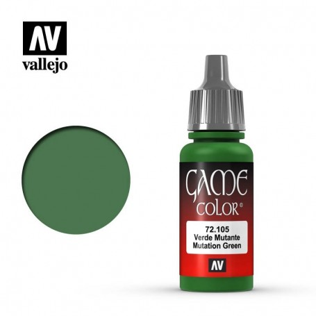Vallejo 72105 Game Color 105 Mutation Green 17ml