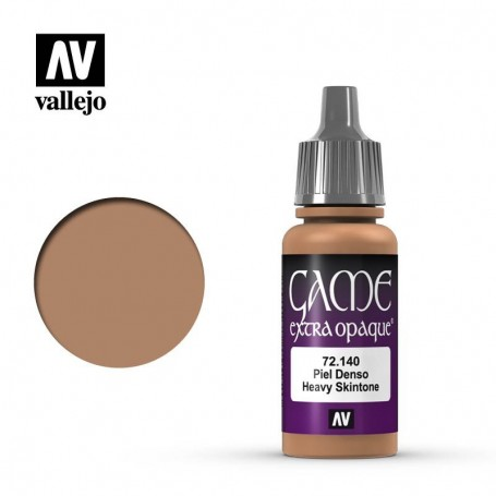 Vallejo 72140 Game Color 140 Extra Opaque Heavy Skintone 17ml
