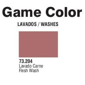 Vallejo 73204 Game Color Wash 204 Flesh 17ml