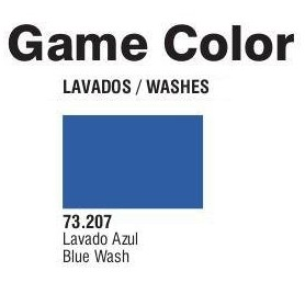 Vallejo 73207 Game Color Wash 207 Blue 17ml