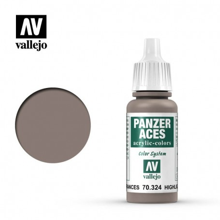 Vallejo 70324 Panzer Aces 324 Highlight French Tank Crew 17ml