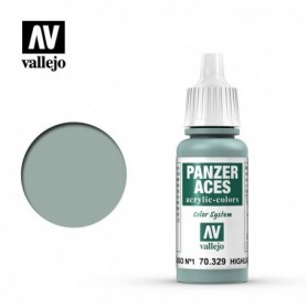 Vallejo 70329 Panzer Aces 329 Highlight Russian Tank Crew I 17ml
