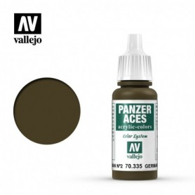 Vallejo 70335 Panzer Aces 335 German Tank Crew II 17ml