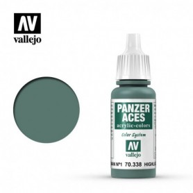 Vallejo 70338 Panzer Aces 338 Highlight German Tank Crew I 17ml