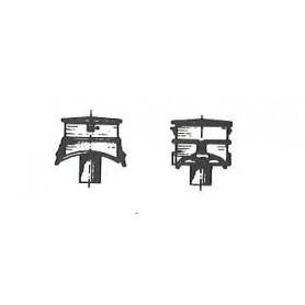 Gunther 1270 Sandlåda för ånglok BR 78 m.fl, 1 st, mässing omålad