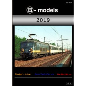 Media KAT503 B-Models Huvudkatalog 2019