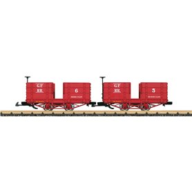 "LGB 32441 Grizzly Flats Passenger Car Set ""Chloe"""