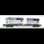 "Roco 76622 Flakvagn med last av containers ""SBB Cargo"""