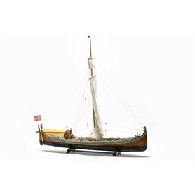 Billing Boats 416 Nordlandsbåden, komplett, byggsats i trä