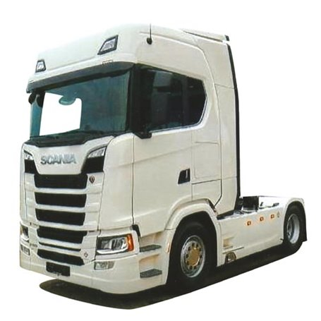 AMW 9229.01 Dragbil Scania S Aero, 2-axlig vit
