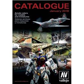 Media KAT429 Vallejo Katalog 2018