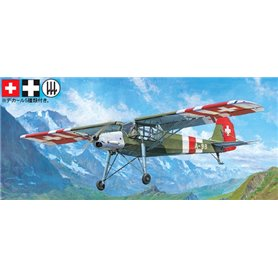Tamiya 25158 Flygplan Fieseler Fi156C Storch (Foreign Air Forces)