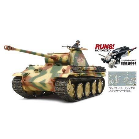 Tamiya 30055 Tanks German Panther Ausf.G Early Production (w/Single Motor)