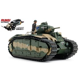 Tamiya 30058 Tanks French Battle Tank B1 bis (w/Single Motor)