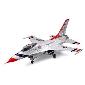 """Tamiya 61102 Flygplan F16C Block 32/52 """"Thunderbirds"""""""