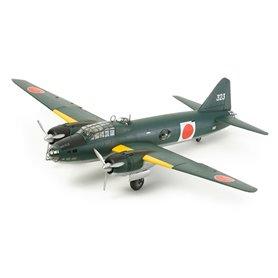 Tamiya 61110 Flygplan Mitsubishi G4M1 Model 11 - Admiral Yamamoto Transport (w/17 Figures)