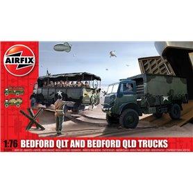 Airfix 03306 Bedford QLT And Bedford QLD Trucks