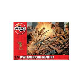 Airfix 01729 Figurer WWI American Infantry
