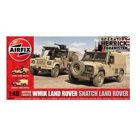Airfix 06301 British Forces WMIK Land Rover - Snatch Land Rover