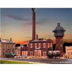 Vollmer 45617 Fabriksbyggnad, Heizwerk