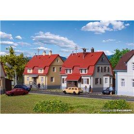 Kibri 36782 Familjehus 2 st 1920-tals design
