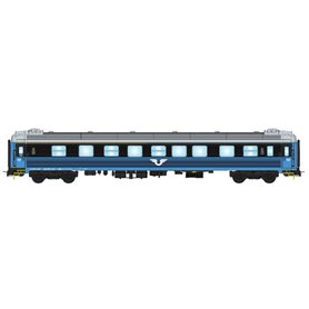 NMJ 204401 Personvagn SJ B1, 2:a klass, blå/svart, version 2