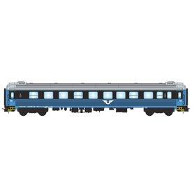 NMJ 204402 Personvagn SJ B1K 5106 2:a klass, blå/svart, version 2