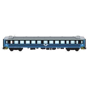 NMJ 205401 Personvagn SJ B5 4593 2:a klass, blå/svart, version 2