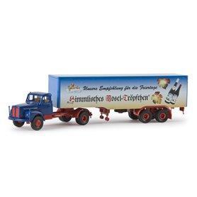 """Brekina 85126 Bil & Trailer Scania L110 """"Himmlisches Moseltröpfchen"""""""