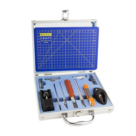 Model Craft PKN1050CM Verktygsset 50 Piece Knife Set & A5 Cutting Mat