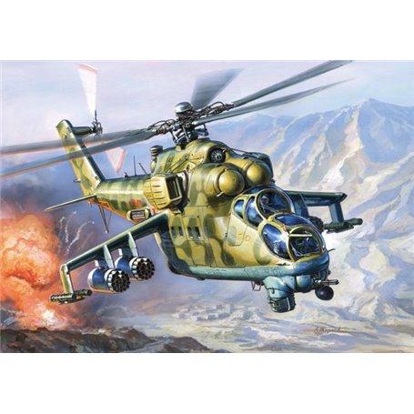 Zvezda 7293 Helikopter Mil Mi-24V/VP Hind E