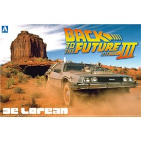 "Aoshima 011874 De Lorean ""Back To The Future IIII"""