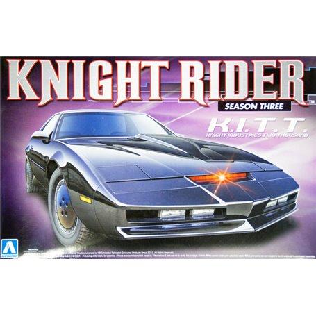 "Aoshima 007037 Knight Rider ""Season Three"" K.I.T.T. ""Knight Industries Two Thousand"""