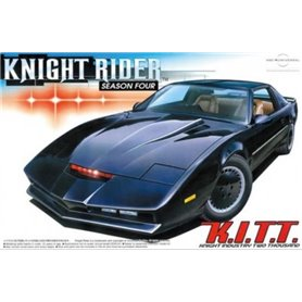 "Aoshima 041307 Knight Rider ""Season Four"" K.I.T.T. ""Knight Industries Two Thousand"""