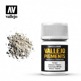 Vallejo 73101 Pigment 101 Titanium White 35ml